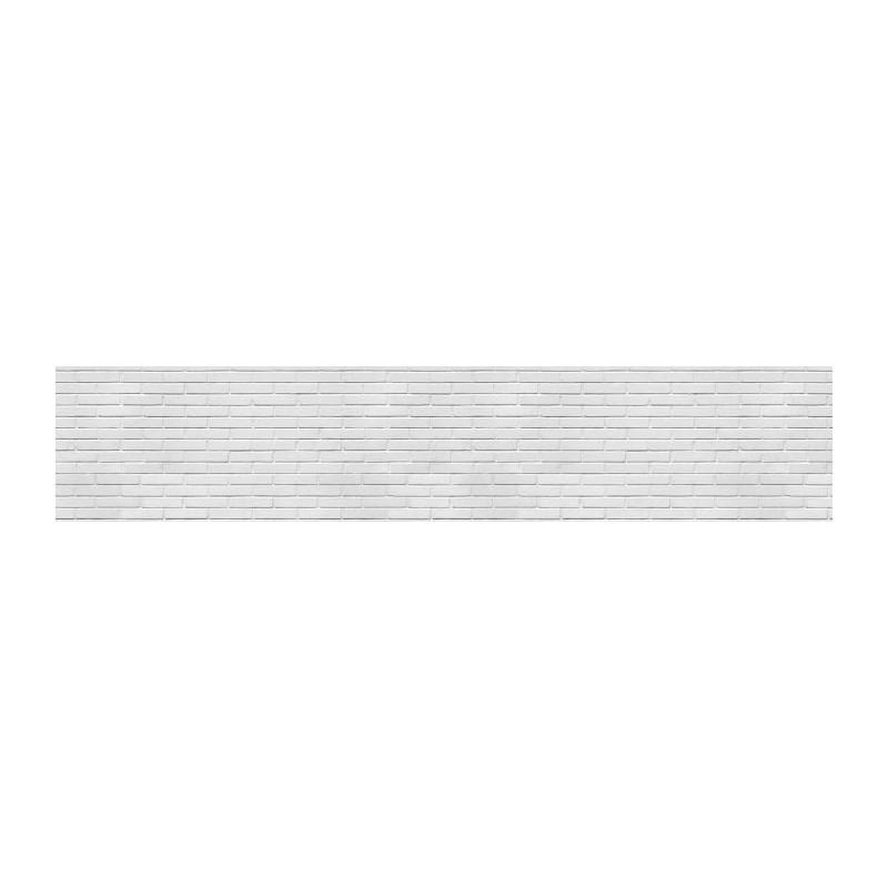 Mur blanc poster mur de briques blanches poreuses - Mur de photos noir et blanc ...