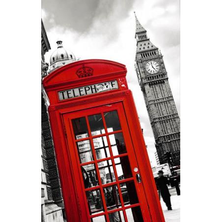 Tenture suspendue LONDON PHONE