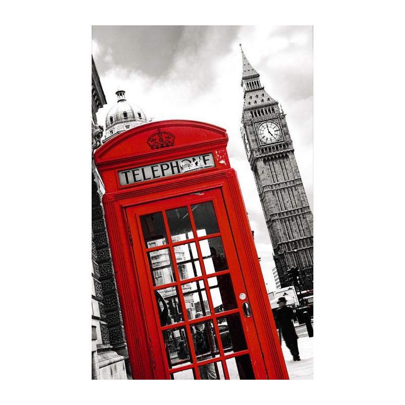 London phone papier peint londres et ses symboles for Deco chambre london