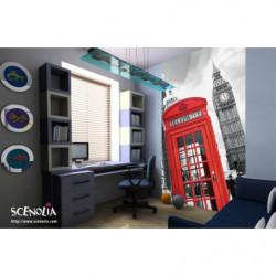 Papier peint cabine téléphonique de Londres