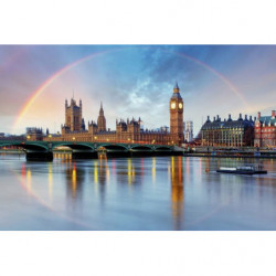Papier peint LONDON RAINBOW