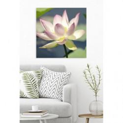 Tableau fleur de lotus style zen