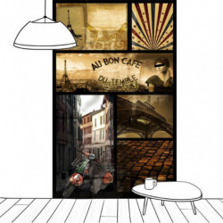 Papel pintado AU BON CAFE