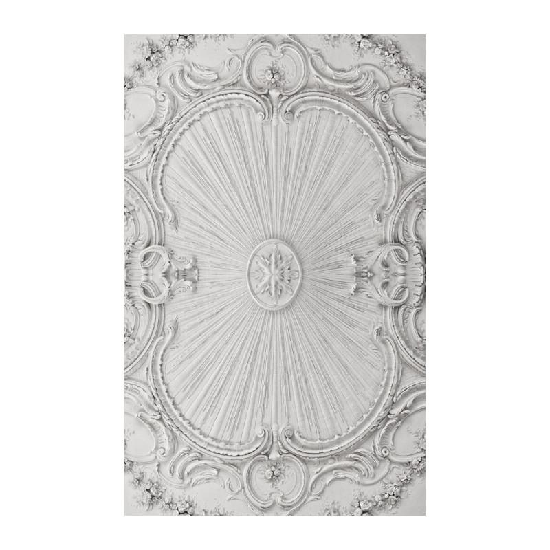 Brique blanches  WHITE WALL  Fresque papier peint
