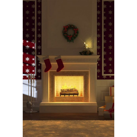 BY THE FIREPLACE wall hanging