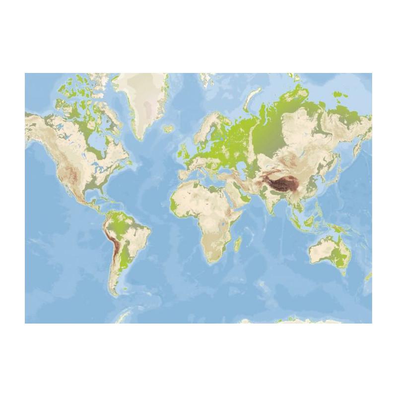 poster mappemonde vintage carte du monde g ante. Black Bedroom Furniture Sets. Home Design Ideas