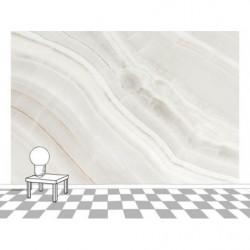 Papier peint trompe l'oeil marbre