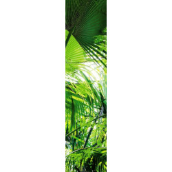 Lé de papier peint ambiance jungle