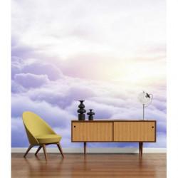Poster mural nuages romantiques