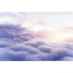 Papier peint mer de nuage