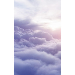ABOVE THE CLOUDS Wall hanging