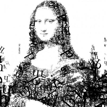 MONA LISAIT canvas print