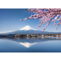Tableau XXL Mont Fuji zen