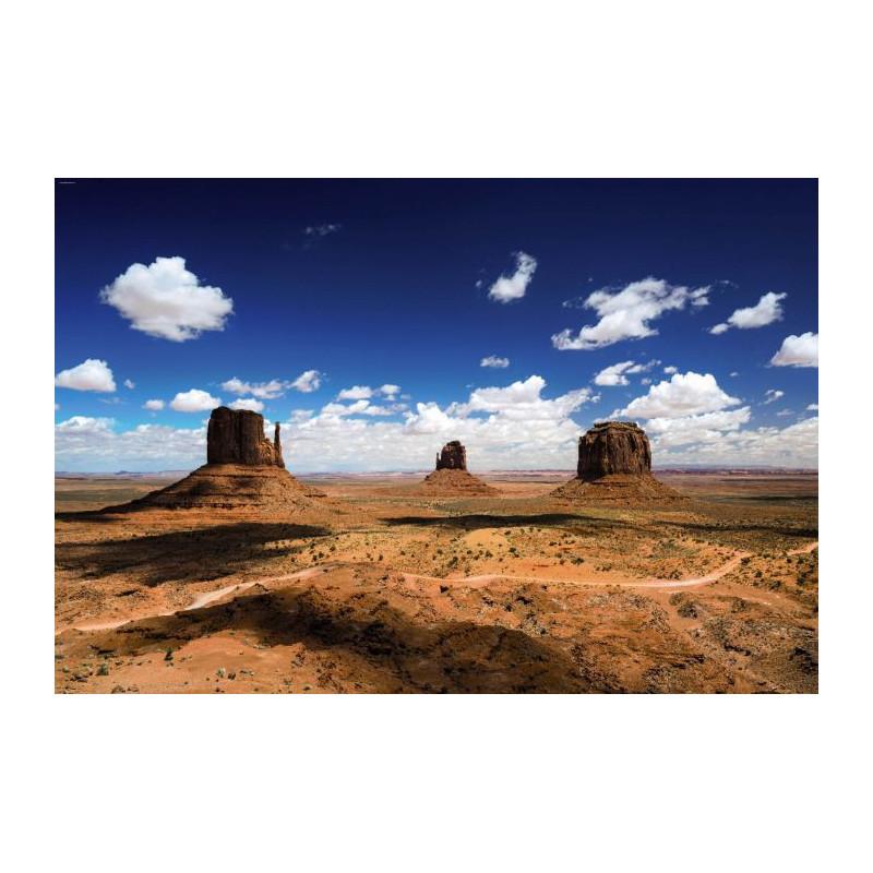 Papier Peint Western Monument Valley Grandeur Nature