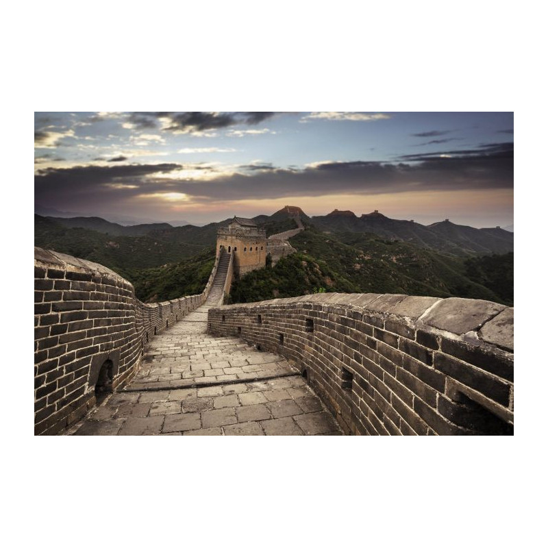 d coration murale panoramique la grande muraille de chine en poster. Black Bedroom Furniture Sets. Home Design Ideas