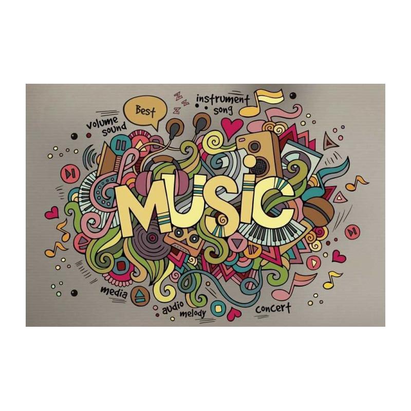 Papier Peint MUSIC