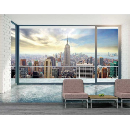 NEW YORK AT HOME Poster
