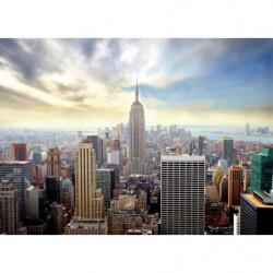 Tableau vue sur New York en hélicoptère
