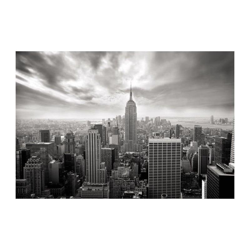 nyc nb un poster noir et blanc de new york par scenolia. Black Bedroom Furniture Sets. Home Design Ideas