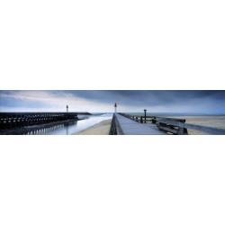 Brise vue ponton sur la mer à Deauville