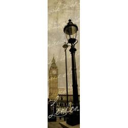 Papier peint vintage Big Ben