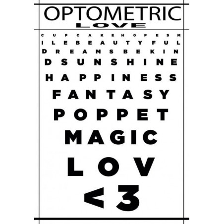 Tableau OPTOMETRIC LOVE