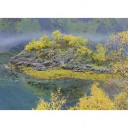 Pintura de paisaje otoñal