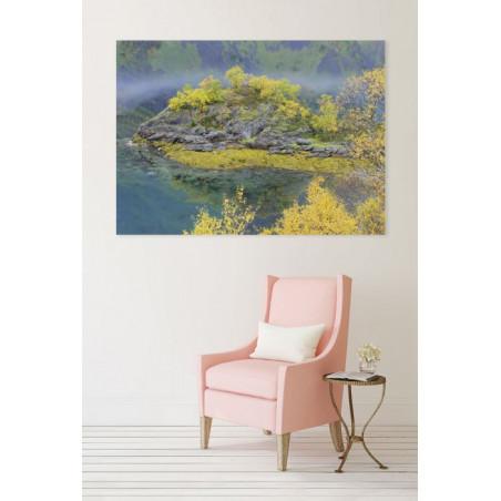 AUTOMN ISLAND canvas print
