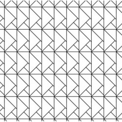 Papier peint motif géométrique origami