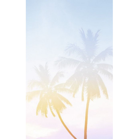 PALM TREES PASTEL  wall hanging