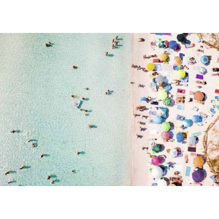 SUNSHADES - VIEW FROM ABOVE Canvas print