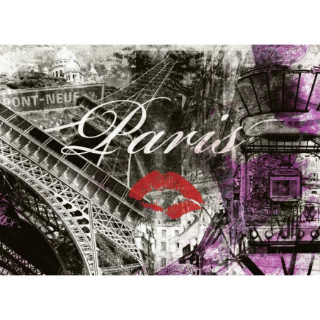 Lienzo impreso PARIS