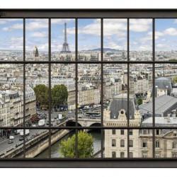 Papier peint PARIS LA SEINE
