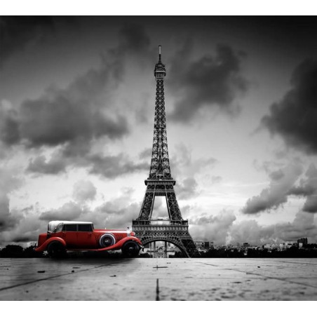 Poster PARIS NOIR ET BLANC