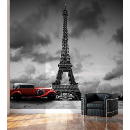 PARIS BLACK AND WHITE poster