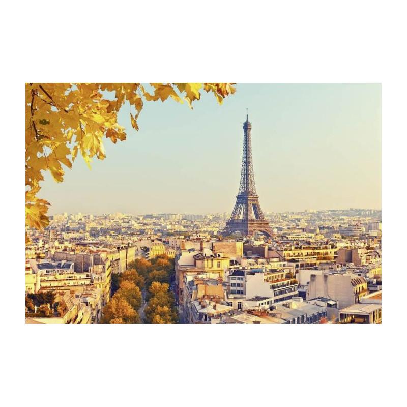 Poster AUTOMNE À PARIS