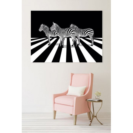 PEDESTRIAN PASSAGE canvas print