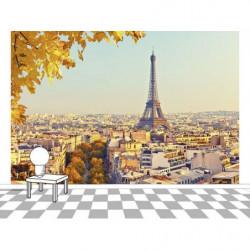 Papier peint AUTOMNE À PARIS