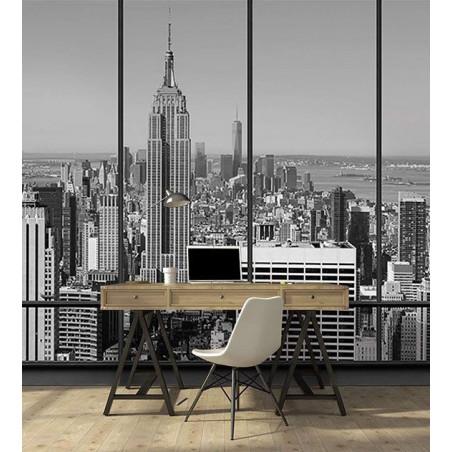 NEW YORK PENTHOUSE B&W Wallpaper
