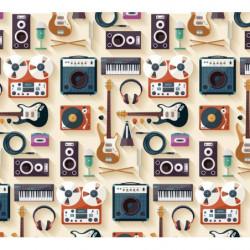 Poster panoramique musique pop rock