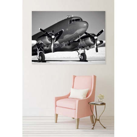 DOUGLAS DC3 AIRCRAFT Canvas print