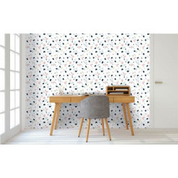 Papier peint effet terrazzo tendance et design