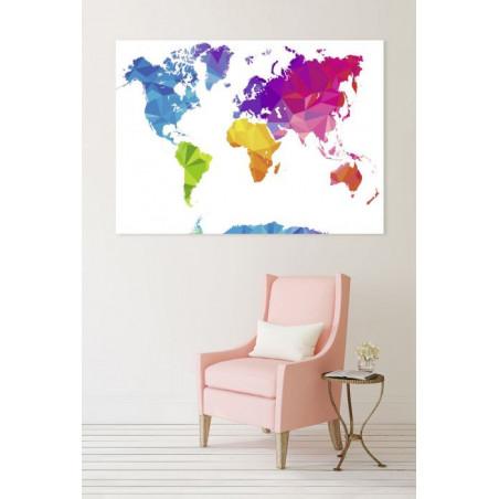 POP WORLD Canvas print