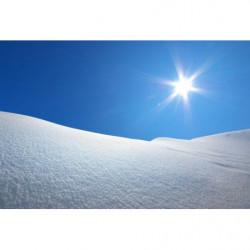 Poster photo neige en hiver