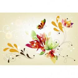 Papier peint POWER FLOWER