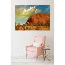 Tableau paysage Ayers Rock en Australie