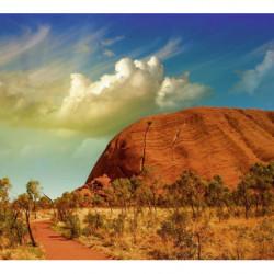 Papier peint paysage panoramique Ayers Rock