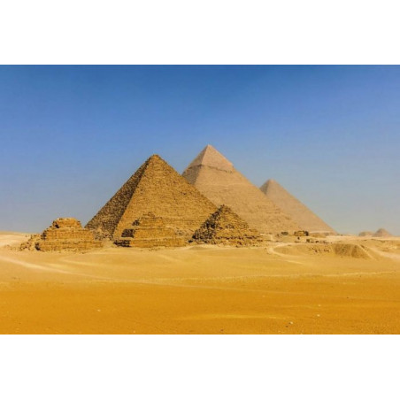 Póster PIRÁMIDES DE EGIPTO