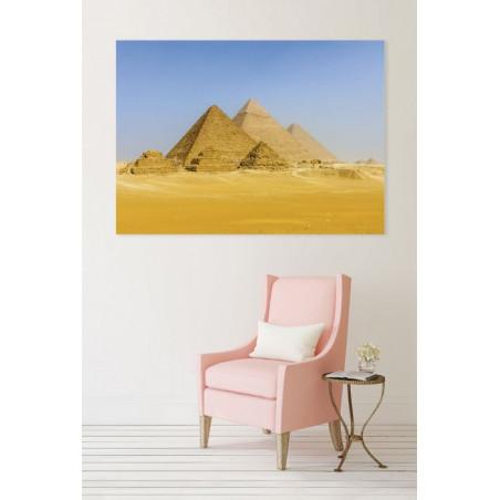 PYRAMIDS OF EGYPT Canvas print
