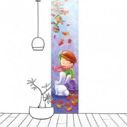 Lé de tapisserie pour chambre de garçon